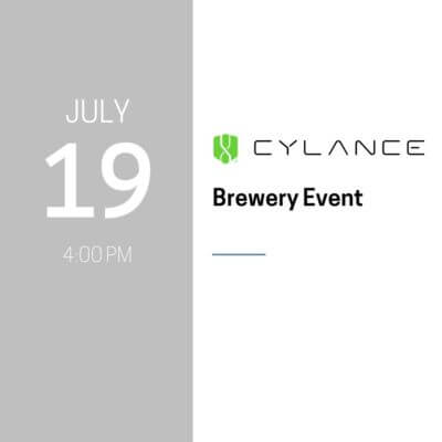Cylance Brewery Event