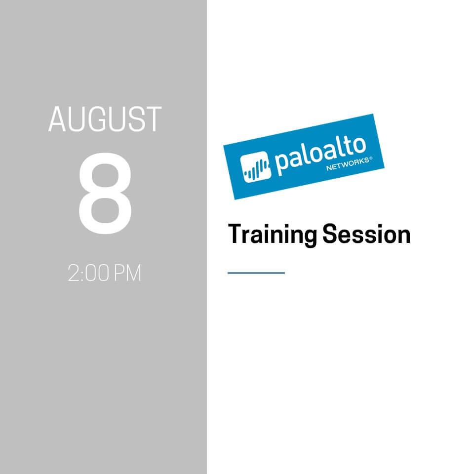 Palo Alto Training Session
