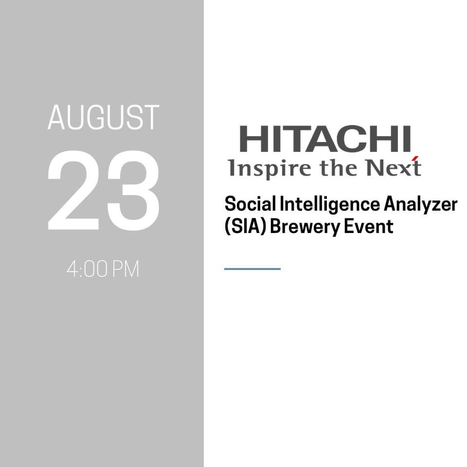 Hitachi Brewery Event
