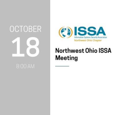 Northwest Ohio ISSA Meeting
