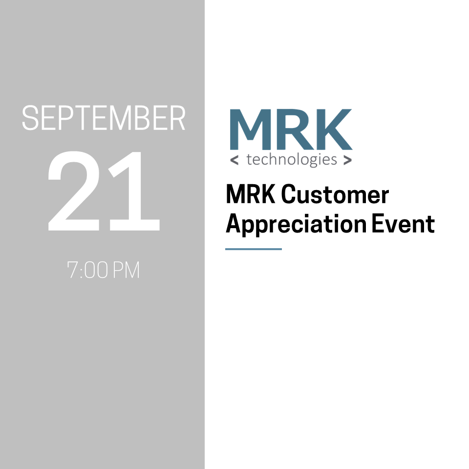 MRK Customer Appreciation Event