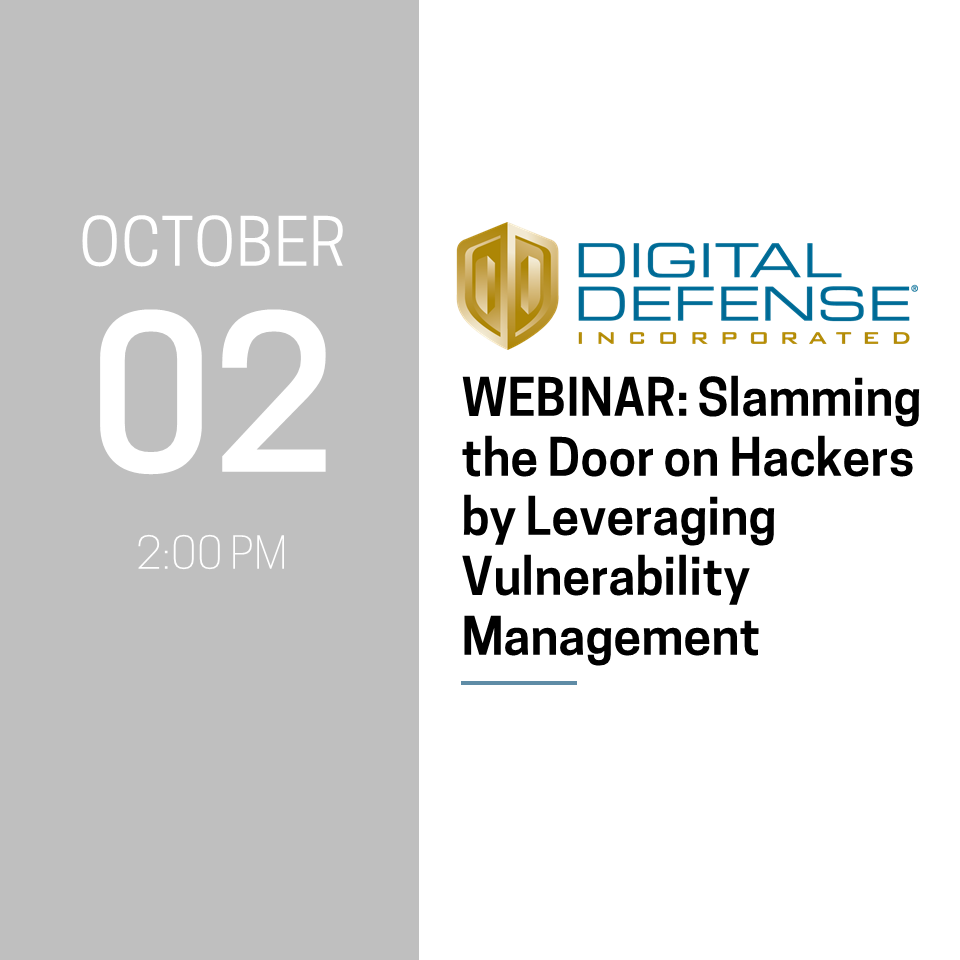 Digital Defense Webinar
