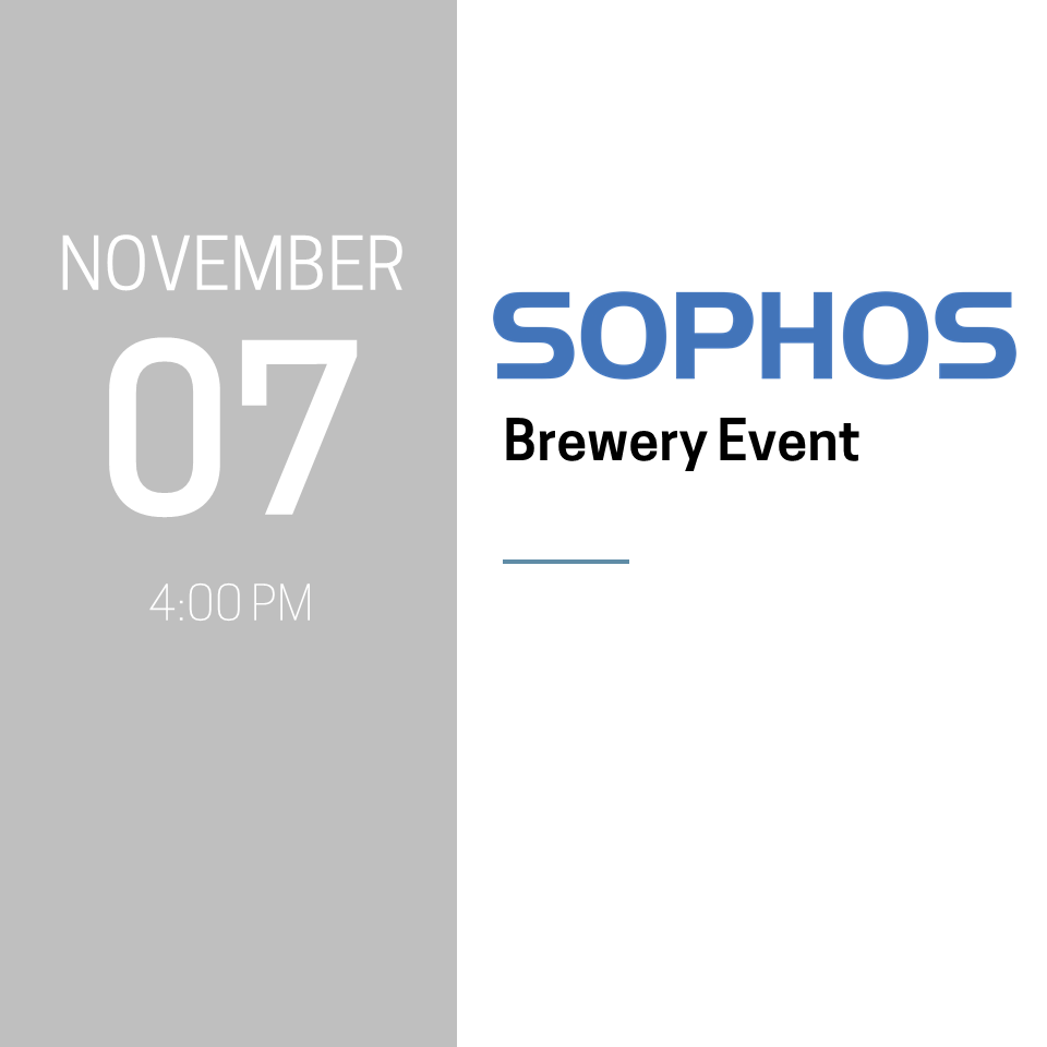 Sophos Brewery Event