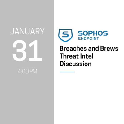 Breaches and Brews Event